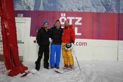 Ski Club staff try Telemark Skiing