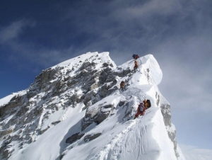 Ascent of Mt Everest
