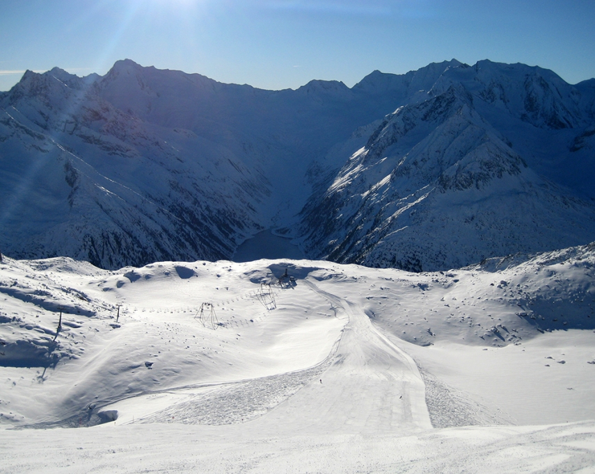 Hintertux - Schlegeis-Gletscher
