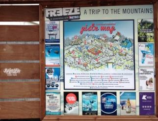 Freeze Festival 'piste map'