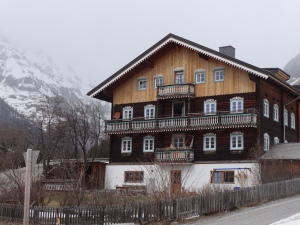 Typical farmhouse in Kals am Grossglockner