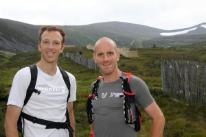 "Dr Andrew Murray (left) and Donnie Campbell about to take on ""The Big 10"" (Scotland's 10 highest peaks) in a day... (They finished in 13 hours and 10 minutes...)"