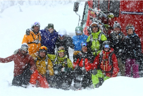 Cat-skiing with Powder Mountain