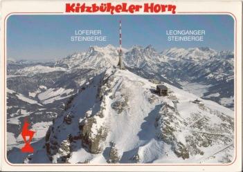 Kitzbueheler Horn Postcard