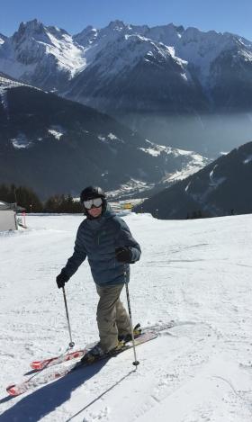 Elliot Skiing