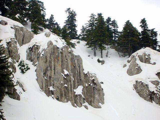 Mt Parnassos-Fterolaka