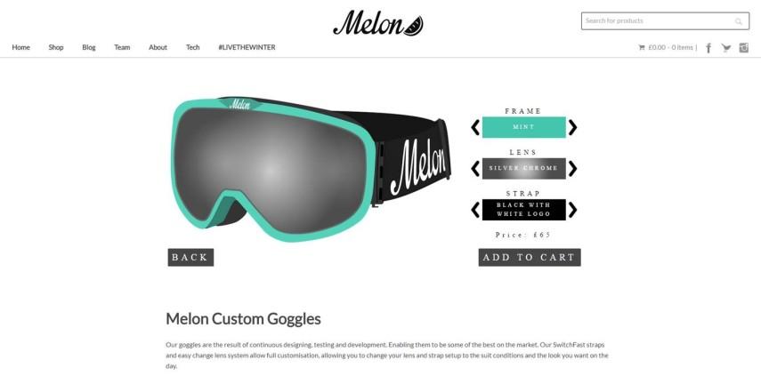 Melon Customization