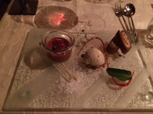 Dessert at Hohliebestubli