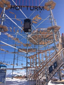 The Hoi Turm high ropes tower
