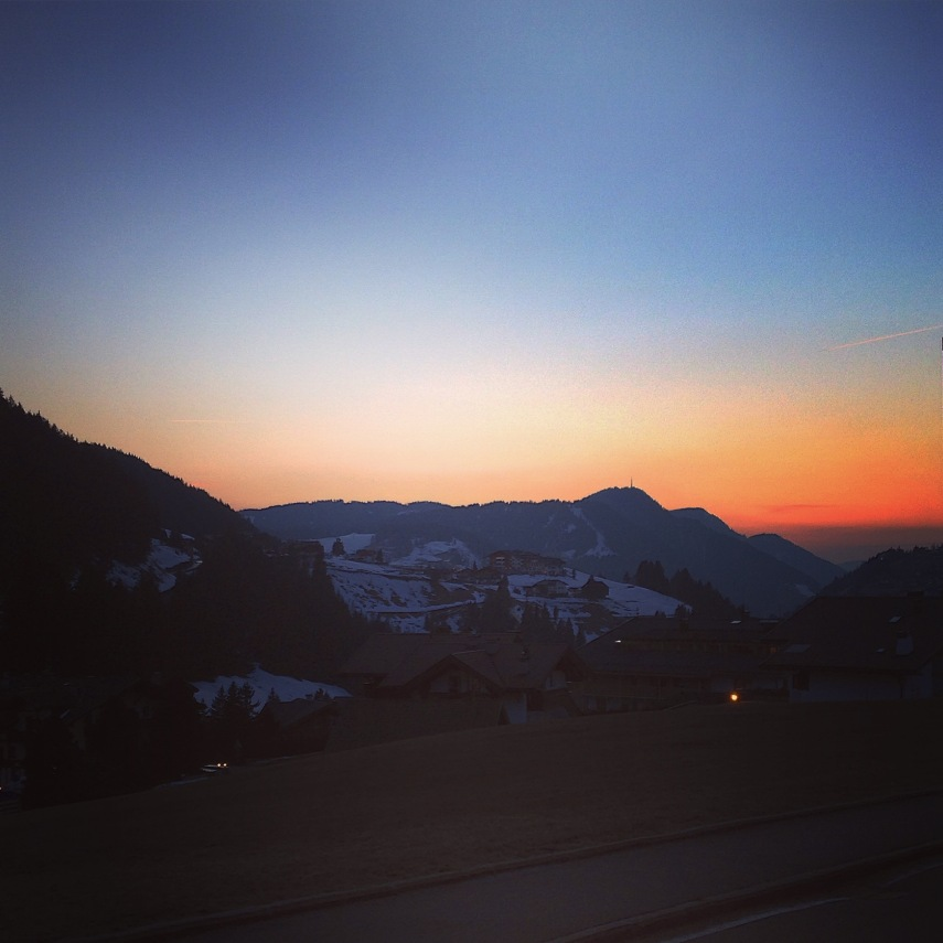 Val Gardena Sunset