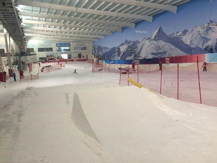 The snowdome at Hemel offers two great freestyle events every week in the summer