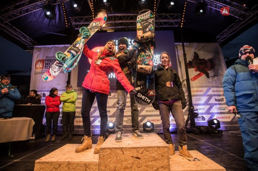 Freeride world tour ladies winners