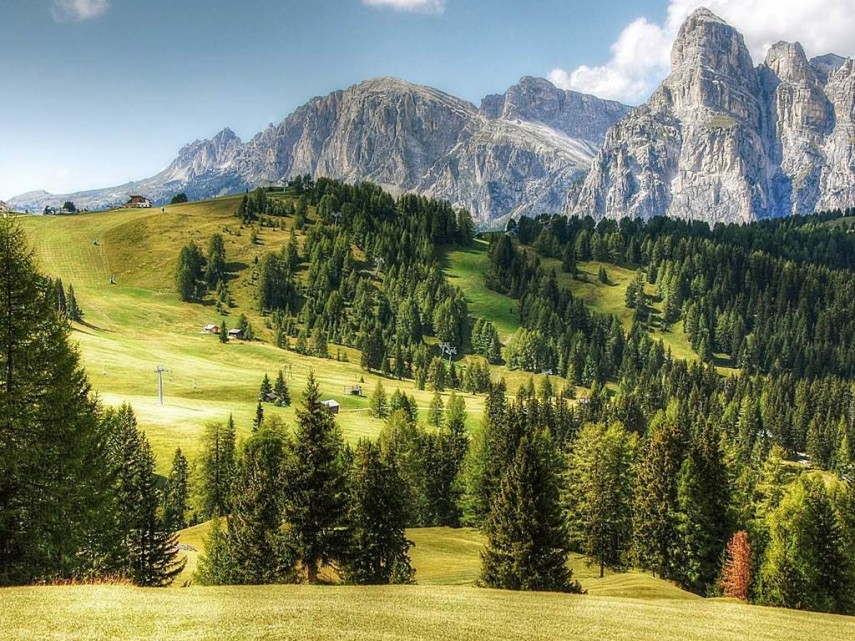 mountain landscape italy