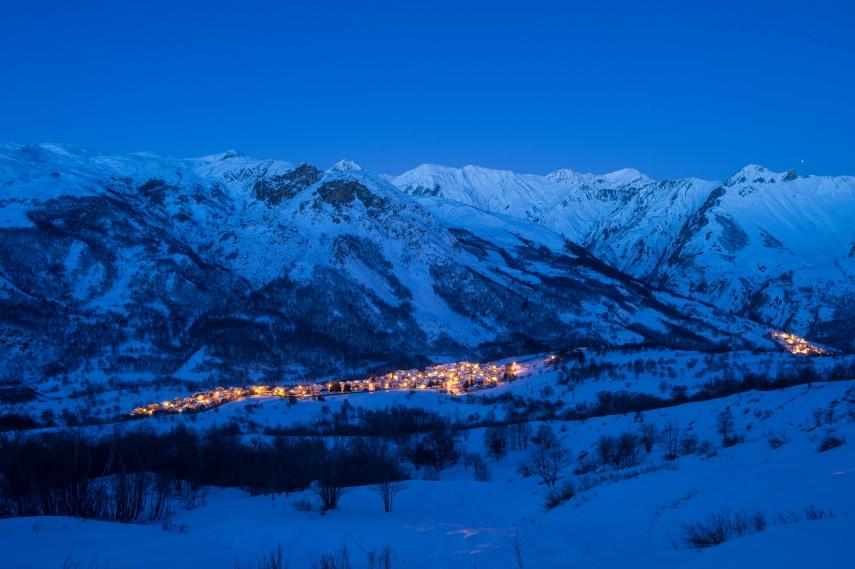 Vallée Belleville_nuit©G.Lansard