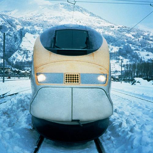 eurostar ski train