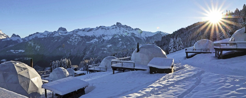 whitepod switzerland ecotourism
