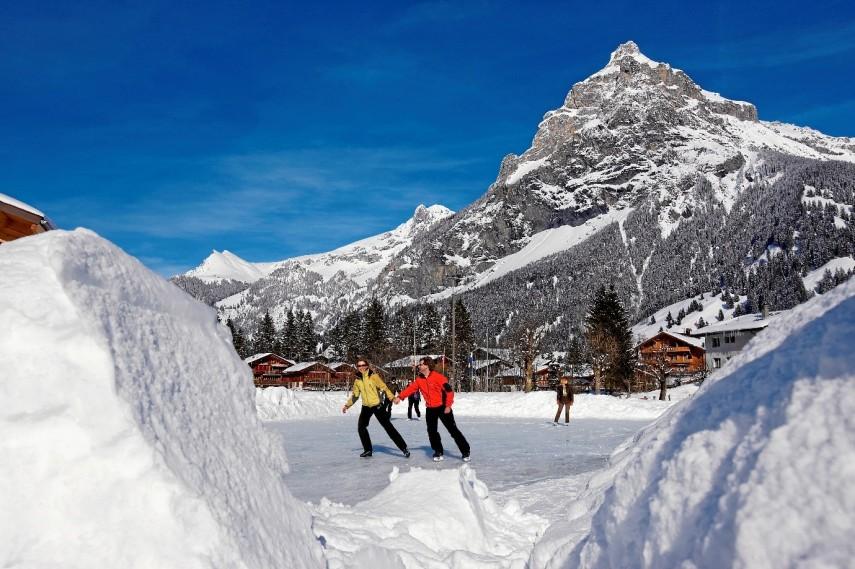 ice skate Kandersteg
