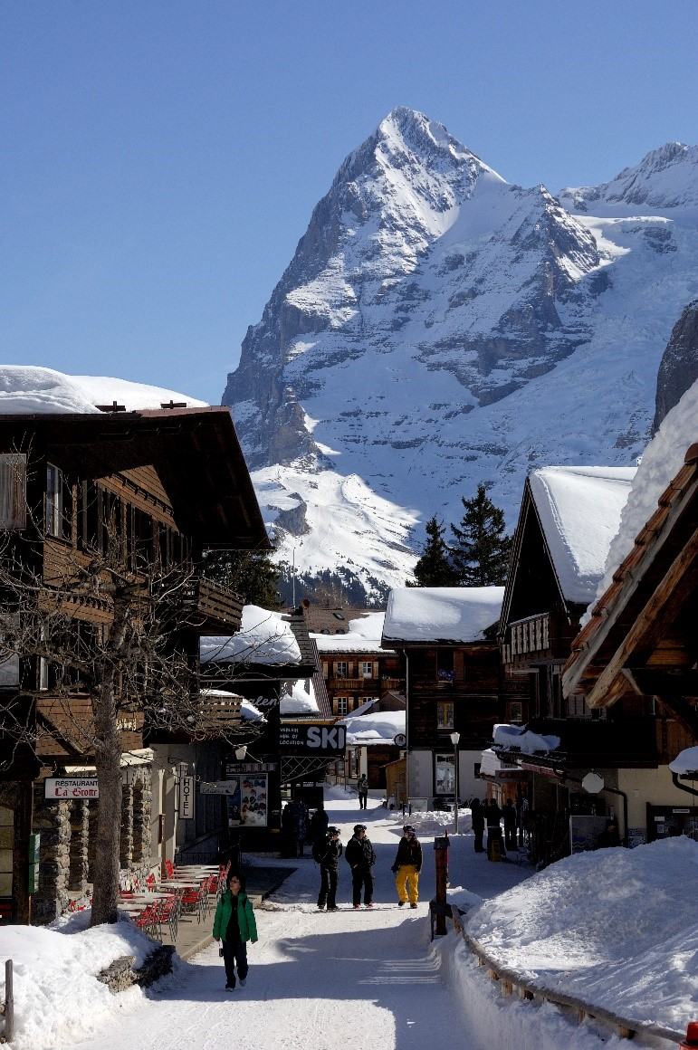 Mürren ski resort