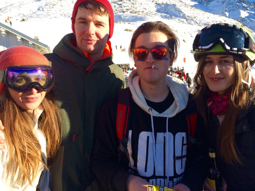 group at folie douce val thorens
