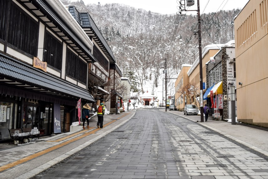 resort of sapporo street