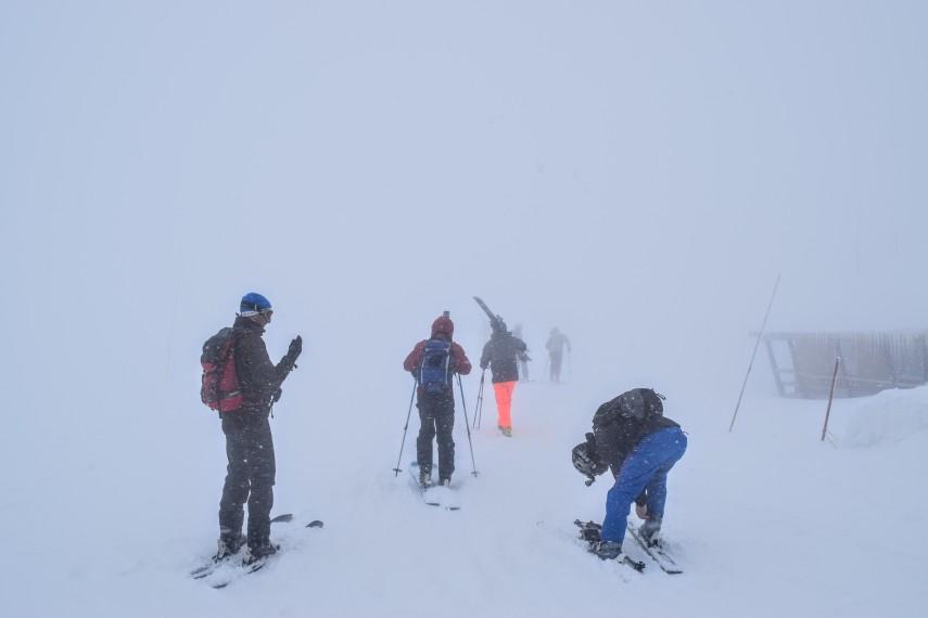 japan kiroro group skiing powder ski trip