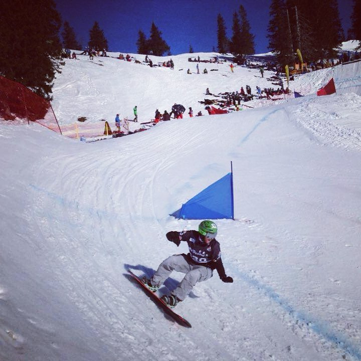 grasgehren snowboarder run