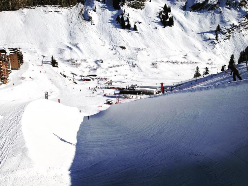 morzine park and pipe