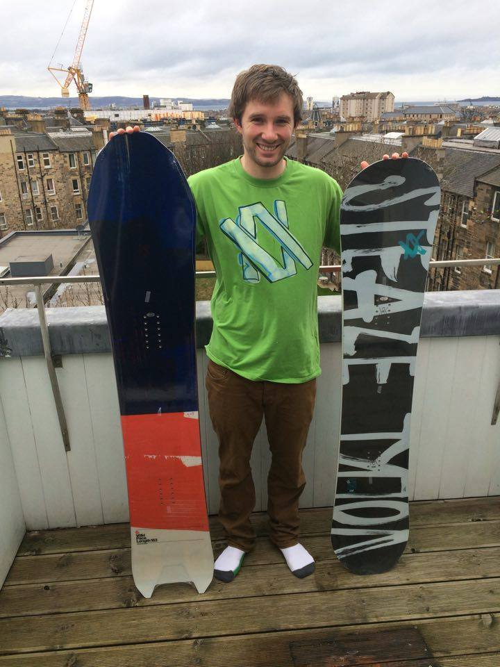 two new snowboards volkl