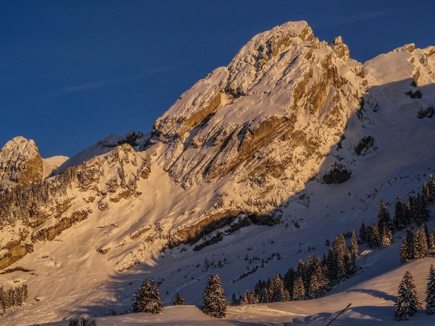 the-aravis-at-sunset
